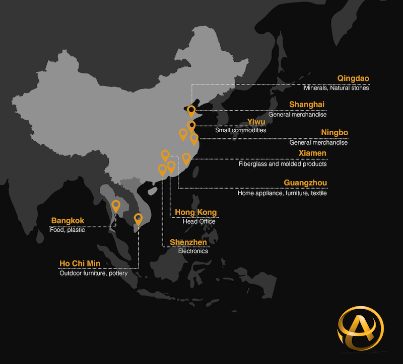 Inasia, une présence dans 10 villes d'Asie